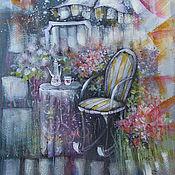 Картины и панно ручной работы. Ярмарка Мастеров - ручная работа Накануне весны. Handmade.