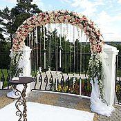 Свадебный салон ручной работы. Ярмарка Мастеров - ручная работа Арка для выездной регистрации свадьба. Handmade.