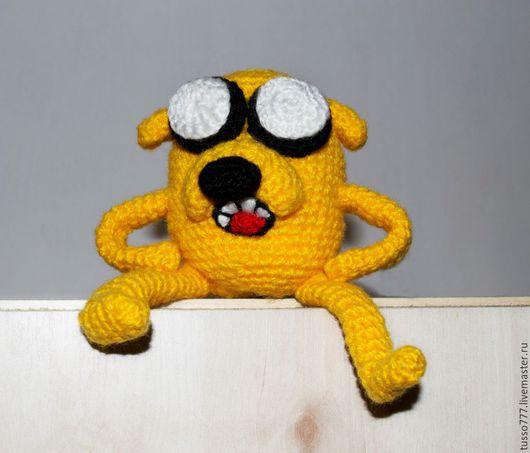 Развивающие игрушки ручной работы. Ярмарка Мастеров - ручная работа. Купить Джейк. Handmade. Игрушка крючком, игрушка в подарок