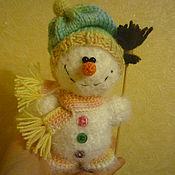 Куклы и игрушки ручной работы. Ярмарка Мастеров - ручная работа Снеговичок. Handmade.