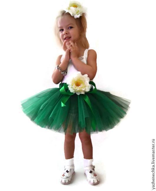 Одежда для девочек, ручной работы. Ярмарка Мастеров - ручная работа. Купить Юбка-пачка или tutu Новогодняя елочка. Handmade.