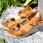 Обувь ручной работы manualidades. Livemaster - hecho a mano Zapatos de cuero de Jess. Handmade.