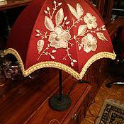 Для дома и интерьера ручной работы. Ярмарка Мастеров - ручная работа Абажур с вышивкой. Handmade.
