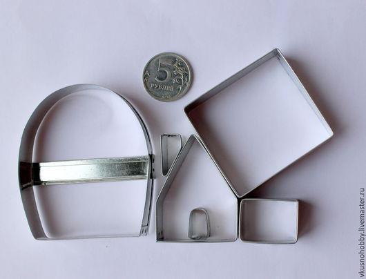 Другие виды рукоделия ручной работы. Ярмарка Мастеров - ручная работа. Купить Домик пряничный маленький 3D, 5х4. Резак, каттер, формочка. Handmade.