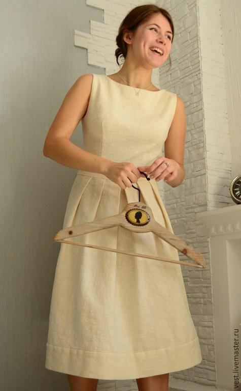 Платье из льна своим руками 9