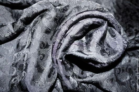 Шали, палантины ручной работы. Ярмарка Мастеров - ручная работа. Купить Платок шелк 100% черный. Handmade. Черный