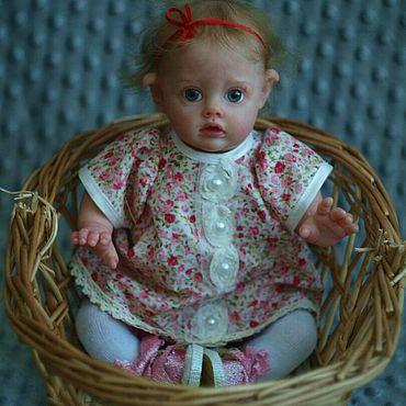 Куклы и игрушки ручной работы. Ярмарка Мастеров - ручная работа Кукла реборн Фло. Handmade.