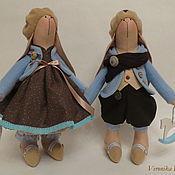 """Куклы и игрушки ручной работы. Ярмарка Мастеров - ручная работа Зайки Тильда """"Зайчиши-малыши"""". Handmade."""