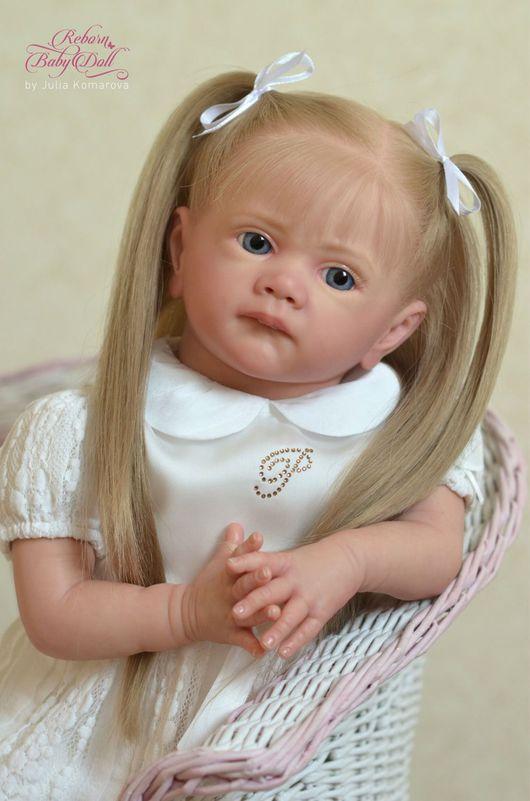 Куклы-младенцы и reborn ручной работы. Ярмарка Мастеров - ручная работа. Купить Милана. Handmade. Реборн, винил, пластиковый гранулят