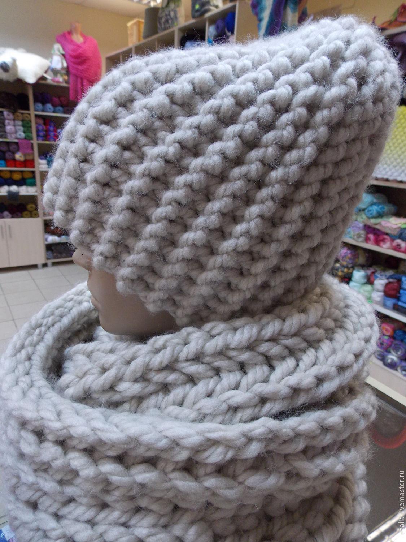 Вязание крючком из толстой пряжи шапок 64