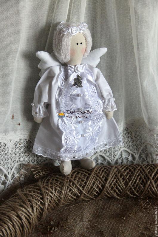 """Куклы Тильды ручной работы. Ярмарка Мастеров - ручная работа. Купить Текстильная кукла """"Ангелочек снов"""". Handmade. Белый"""