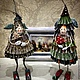 Новый год 2017 ручной работы. Елка-Сара. 'АняМаня'. Ярмарка Мастеров. Кукла ручной работы, проволочный каркас