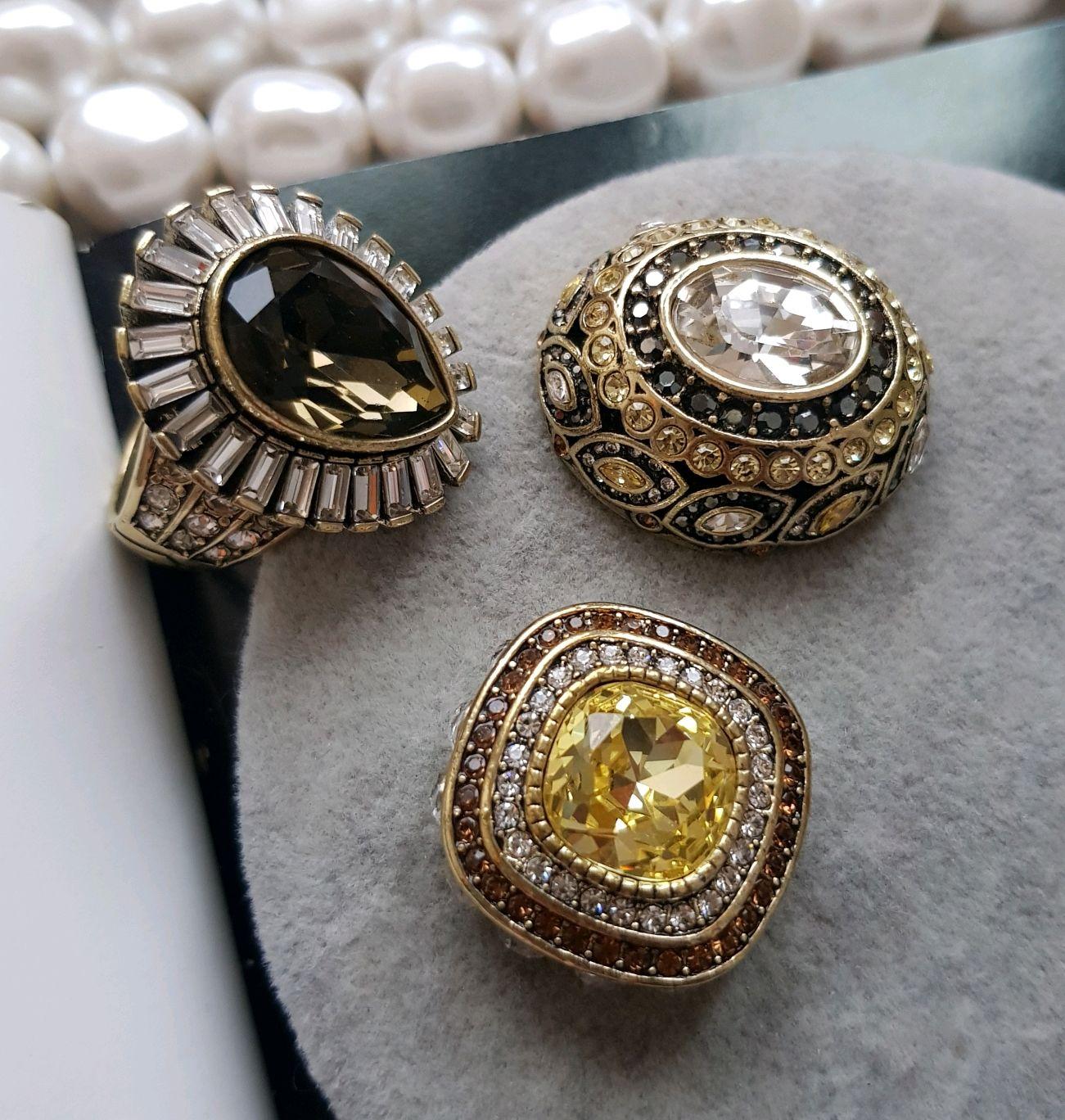 Heidi Daus transformer ring, 3 in one, Vintage ring, St. Petersburg,  Фото №1