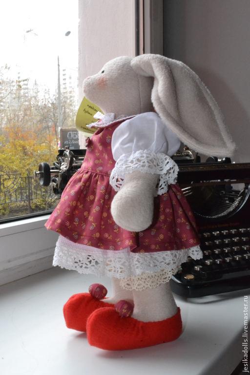 Куклы Тильды ручной работы. Ярмарка Мастеров - ручная работа. Купить Текстильная игрушка - зайчик. Handmade. Тильда заяц
