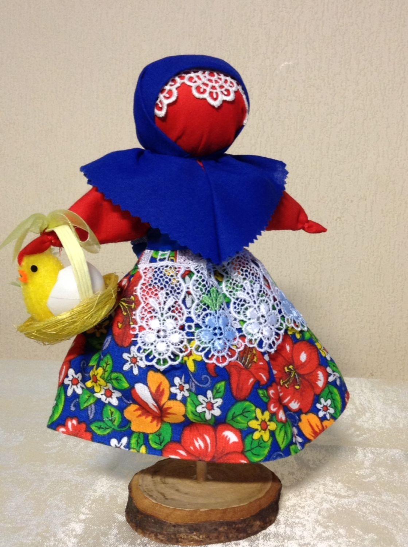 кукла к пасхе своими руками фото класс