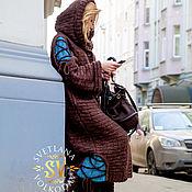 """Одежда ручной работы. Ярмарка Мастеров - ручная работа Вязаное пальто """"Тайные встречи"""". Handmade."""