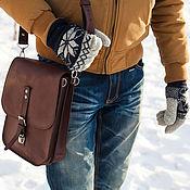 Сумки и аксессуары handmade. Livemaster - original item Leather men`s bag - tablet CAYMAN. Handmade.