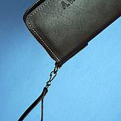 Сумки и аксессуары handmade. Livemaster - original item Clutch zipper. Handmade.