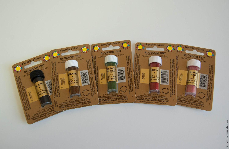 Цветочная пыльца Sugarflair, Материалы, Волжский, Фото №1