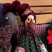 """Куклы и игрушки ручной работы. Ярмарка Мастеров - ручная работа Гуся из  коллекции """" Доброе Рождество!"""". Handmade."""