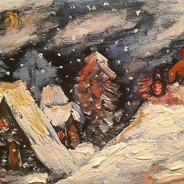 Картины и панно ручной работы. Ярмарка Мастеров - ручная работа christmas Рождество. Handmade.