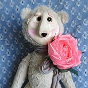 Куклы и игрушки ручной работы. Ярмарка Мастеров - ручная работа Мишка 4. Handmade.