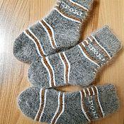 Одежда детская handmade. Livemaster - original item SPORT children`s down socks. Handmade.