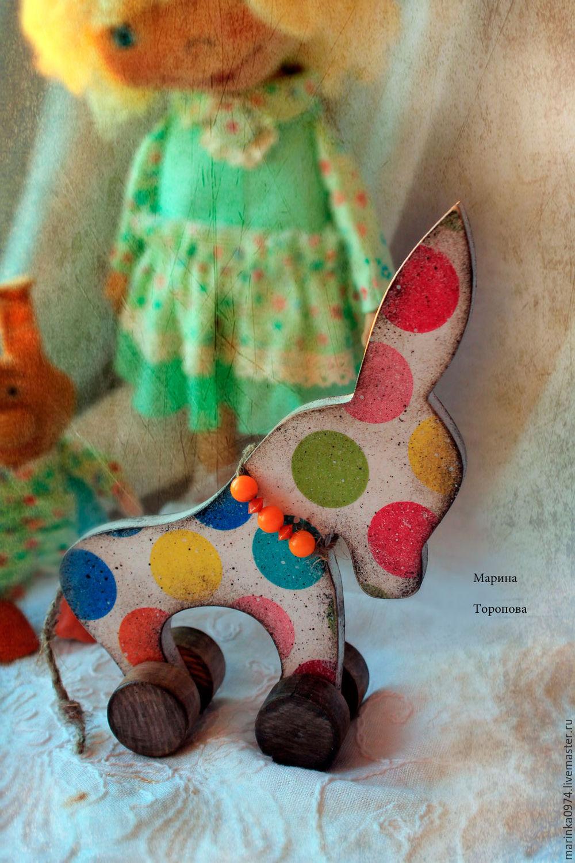 Toy,figurine interior ' donkey', Figurines, Krasnoyarsk,  Фото №1