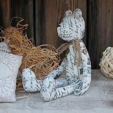 """Куклы и игрушки ручной работы. Ярмарка Мастеров - ручная работа Мишка """"Старые письма"""". Handmade."""