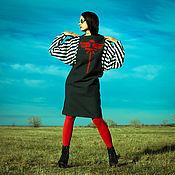 Одежда ручной работы. Ярмарка Мастеров - ручная работа Платье Stripes S. Handmade.