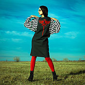 "Одежда handmade. Livemaster - original item ""Stripes"" Dress S. Handmade."