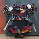 Коллекционные куклы ручной работы. Ярмарка Мастеров - ручная работа. Купить Фрида. Handmade. Черный, монстры, кукла в подарок, текстиль