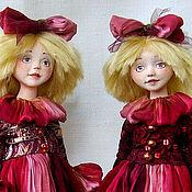 Куклы и игрушки ручной работы. Ярмарка Мастеров - ручная работа Ленточка и Бусинка. Handmade.