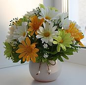 Цветы и флористика ручной работы. Ярмарка Мастеров - ручная работа милые букетики. Handmade.