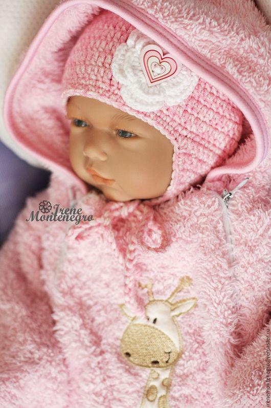 """Для новорожденных, ручной работы. Ярмарка Мастеров - ручная работа. Купить шапочка """"Сердечко"""". Handmade. Розовый, шапочка вязаная, для новорожденного"""