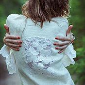 """Пиджаки ручной работы. Ярмарка Мастеров - ручная работа Жакет """"Ришелье"""". Handmade."""