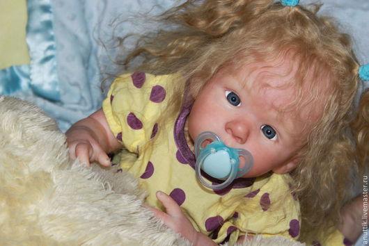 Куклы-младенцы и reborn ручной работы. Ярмарка Мастеров - ручная работа. Купить Малышка. Handmade. Бежевый, кукла в подарок