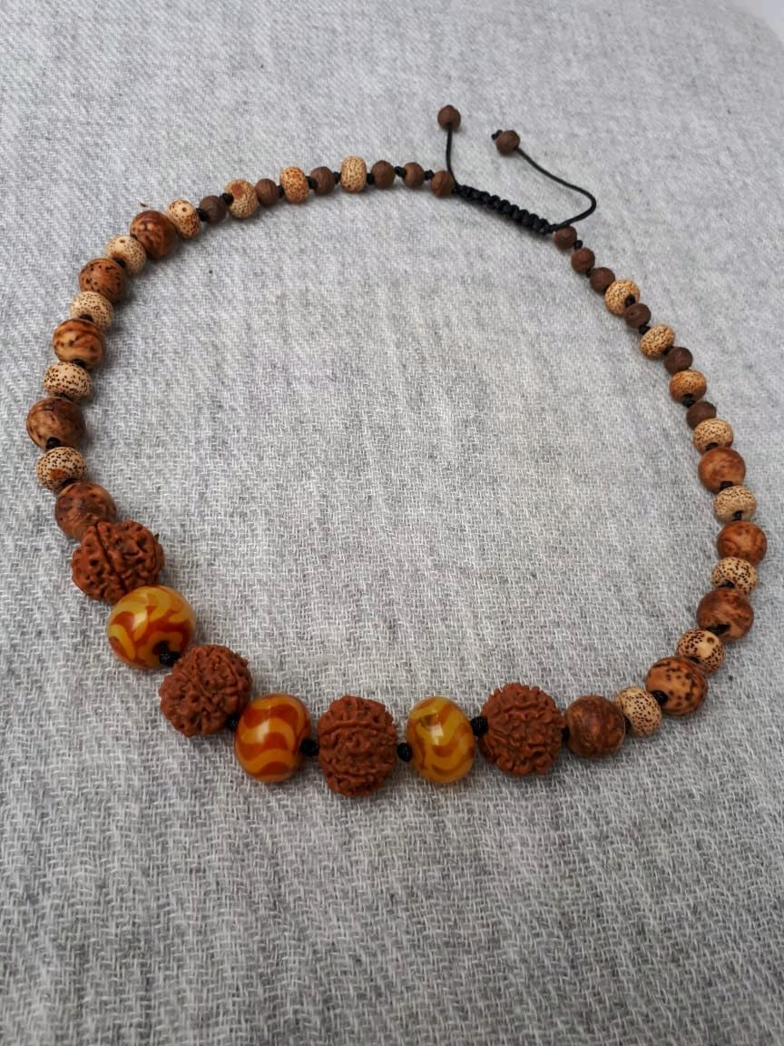 JOY is the author's braided necklace with beads of fire agate, Pendants, Moscow,  Фото №1