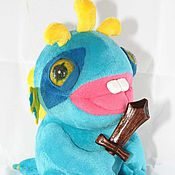 Куклы и игрушки ручной работы. Ярмарка Мастеров - ручная работа Авторская выкройка Мурлока детеныша. Handmade.