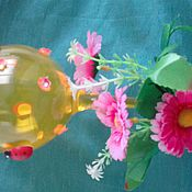 """Подарки к праздникам ручной работы. Ярмарка Мастеров - ручная работа Бокал"""" весенний"""". Handmade."""