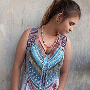 Одежда handmade. Livemaster - original item boho-dress