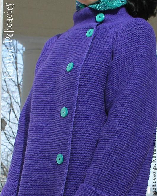 """Верхняя одежда ручной работы. Ярмарка Мастеров - ручная работа. Купить Пальто """" Fresh Wind """". Handmade."""