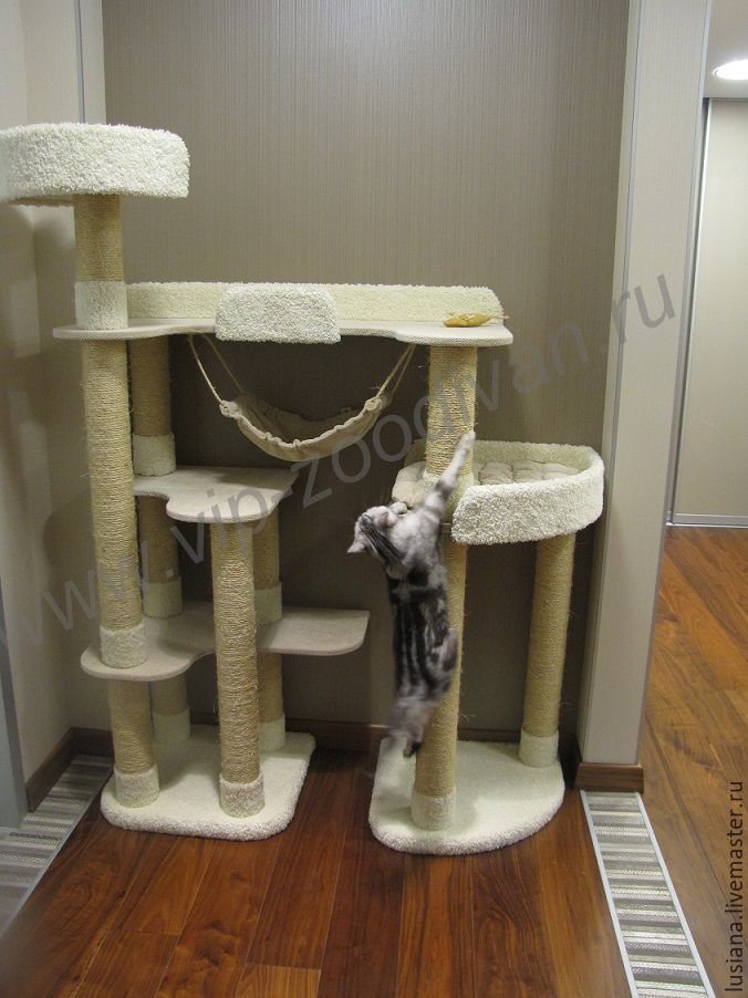 Дом для кошки своими руками фото 618
