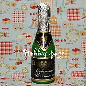 Материалы для творчества handmade. Livemaster - original item Silicone molds for soap Bottle of champagne. Handmade.