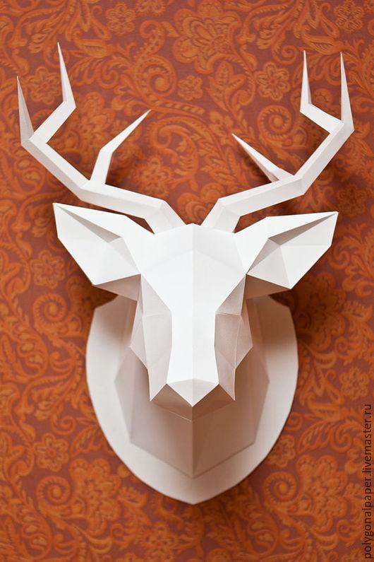 Элементы интерьера ручной работы. Ярмарка Мастеров - ручная работа. Купить Голова оленя. Handmade. Голова оленя, Декор, олень