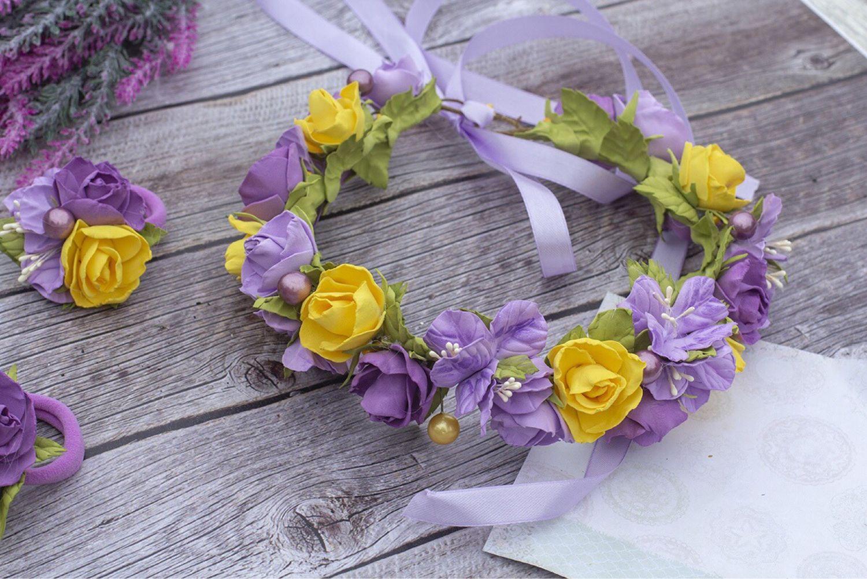 этой записи фото обручей с цветами зимы весна время