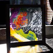 Для дома и интерьера ручной работы. Ярмарка Мастеров - ручная работа Цветочное трио 2. Handmade.