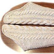 Одежда ручной работы. Ярмарка Мастеров - ручная работа Вязаные рукава для жилета. Handmade.