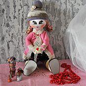 """Куклы и игрушки ручной работы. Ярмарка Мастеров - ручная работа Интерьерная куколка """"Алёнка"""". Handmade."""