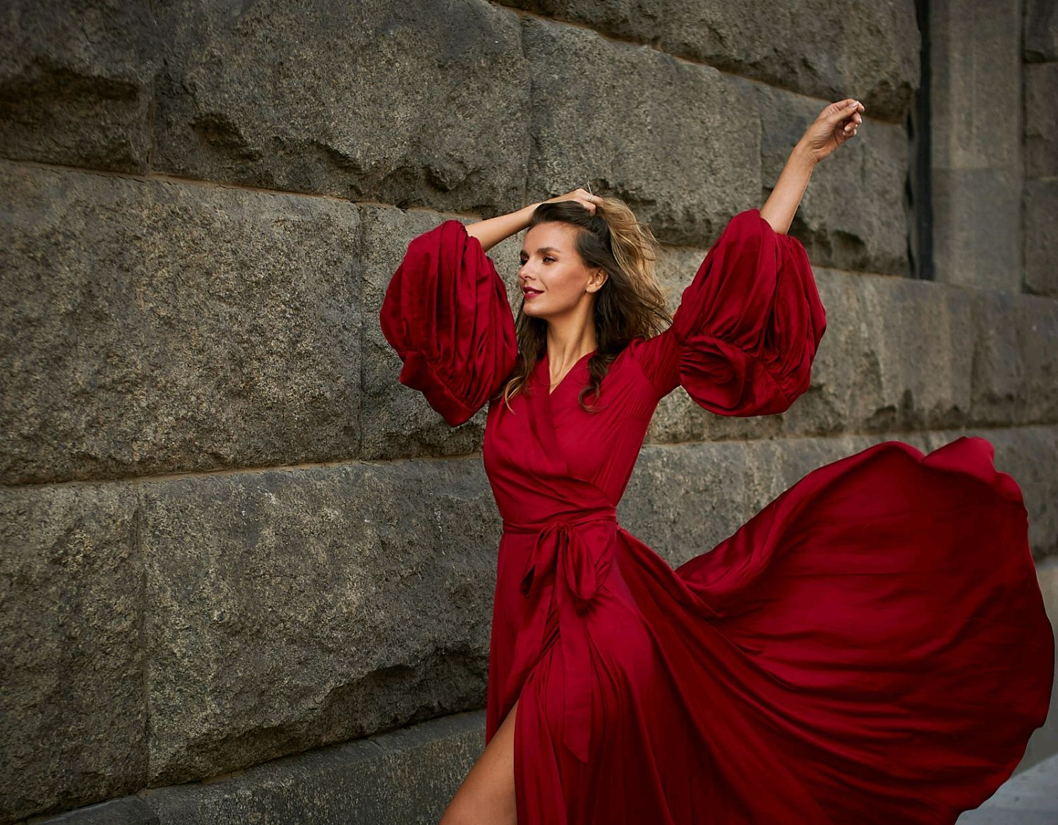 Evening dress ' Wine chic', Dresses, Moscow,  Фото №1